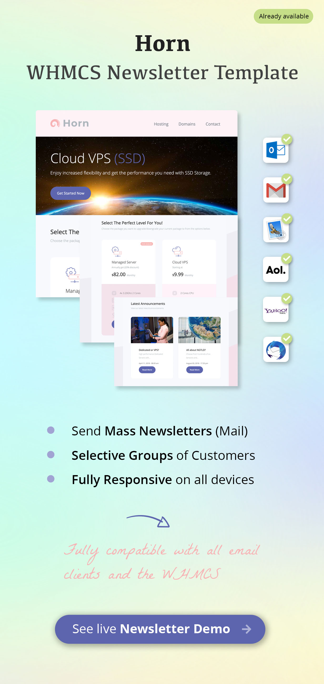 WHMCS Newsletter Template